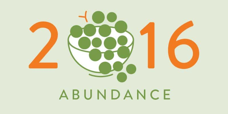 Abundance for 2016 - Ample Table for Everyone, ATE