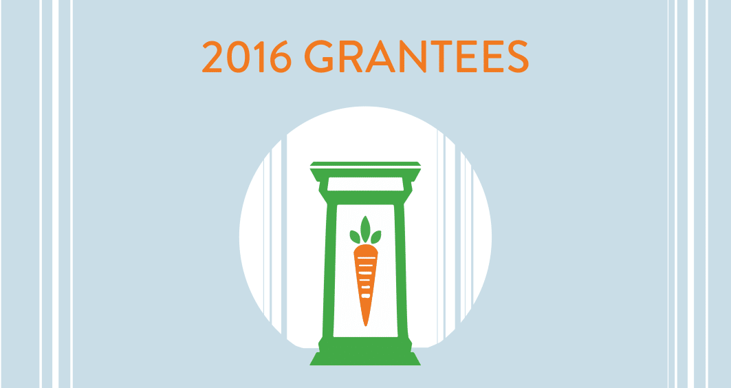 ATE, Ample Table for Everyone, 2016 Grantees